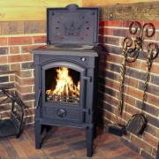 Печь Анжера с плитой (Konig Feuer)
