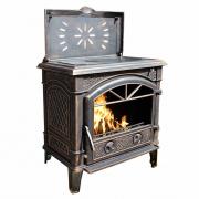 Печь Иф с плитой Антик (Konig Feuer)