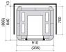 Печь-камин Marketta Solo 1 (Nunnauni)