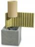 Двухходовой дымоход Schiedel Uni D=180/200 с вентиляцией
