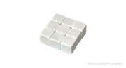 Камни для охлаждения напитков (виски-камни). Белый мрамор